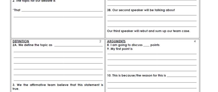 Speech Structure Templates