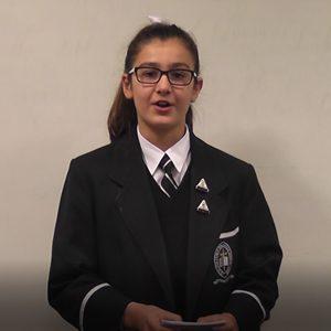 Primary School Second Speaker Exemplar
