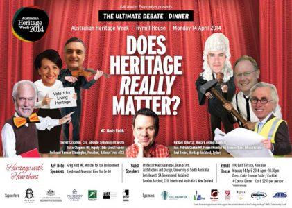 Does Heritage Really Matter? – Heritage Week Debate