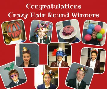 Congratulations to the 2016 Crazy Hair Round Winners