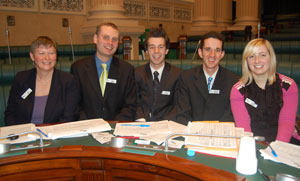 2009 Grand Finals at Parliament House
