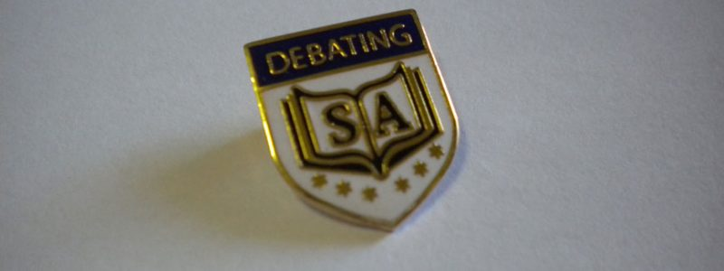 The Links between The Adelaide Mint and Debating SA