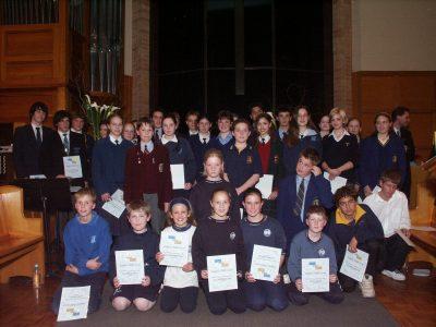 2003 Presentation Ceremony