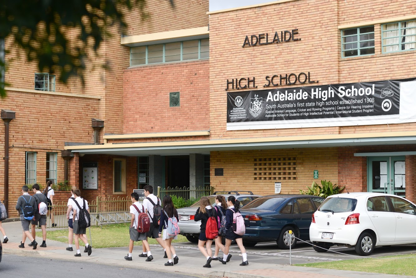Round 1 at Adelaide High School