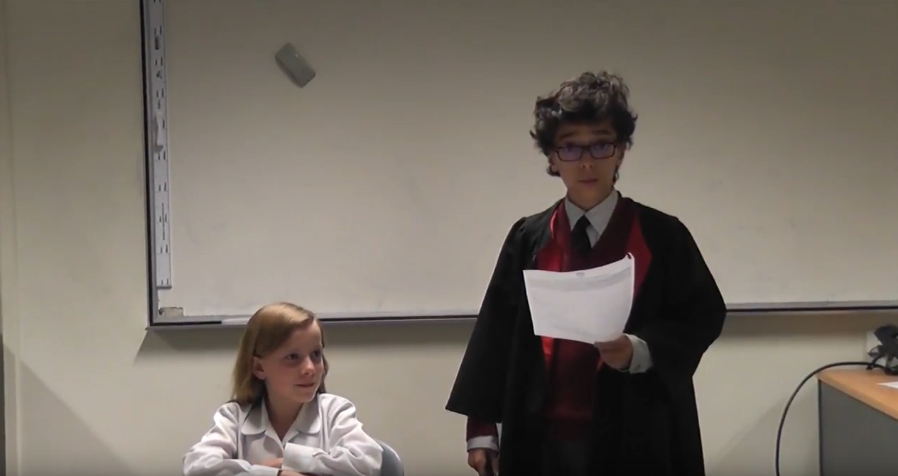Year 6/7 Demonstration Debate – School Lunches