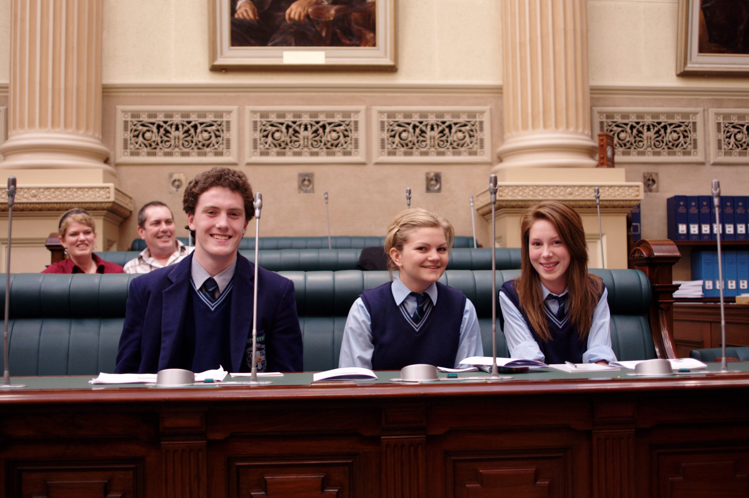 2008 Senior Grand Finals at Parliament House